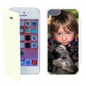 Coque Photo iPhone SE Flip...