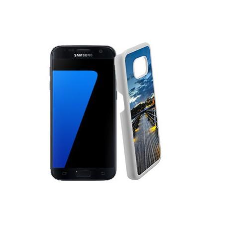 Coque Photo Samsung Galaxy S7 Bord Blanc à personnaliser