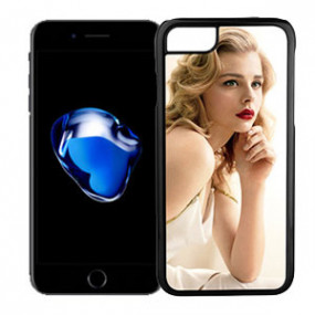 Coque Photo iPhone 8 Bord Noir