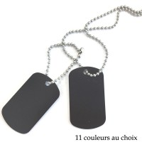 Chaines Dog Tag