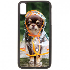 Coque Photo iPhone Xr bord...