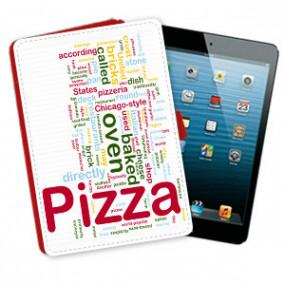 Etui Rouge pour iPad Mini à...