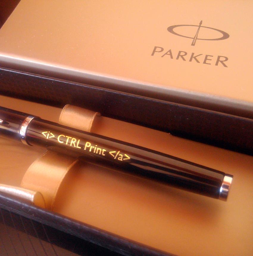 stylo parker personnalise